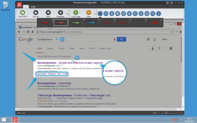 Screenpresso P.ro 1.7.13.0 - Chụp màn hình máy tính
