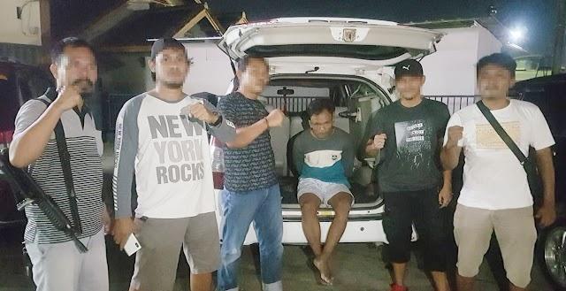 Pelaku Curat Hewan Ternak di Areal Perkebunan Sawit Plasma PT. SIP Ditangkap Polisi