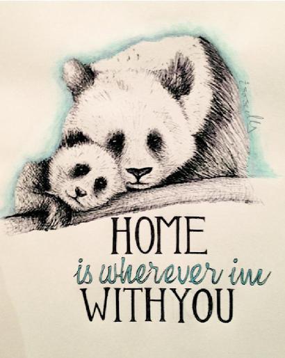 Motivational monday home illustration