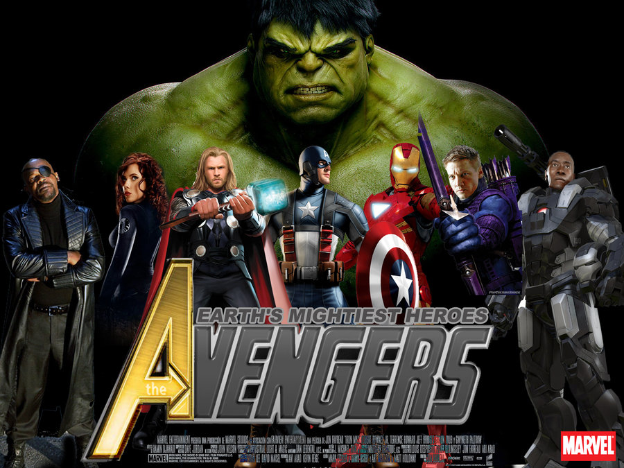 The Avengers 2012 superfilm