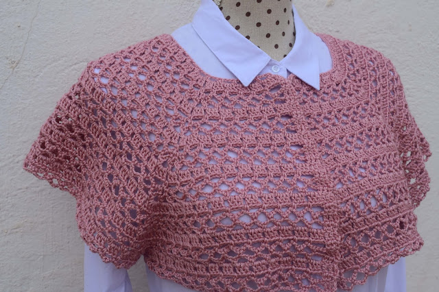 6 -Crochet Imagen Canesú para chaqueta de primavera a crochet por Majovel Crochet
