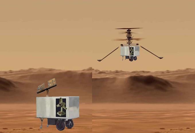 Régimen quiere ser el tercero en llegar a Marte con su robot Palmiche Galeno Plus