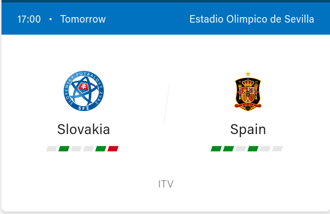 Slovakia vs Spain Preview and Predictions 2021