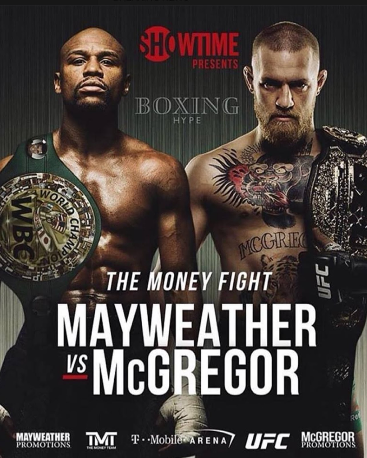 FLOYD MAYWEATHER VS. CONOR MCGREGOR 6