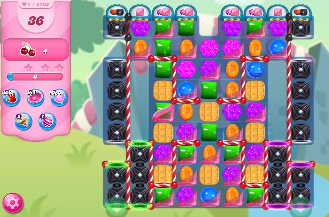Candy Crush Saga level 8762