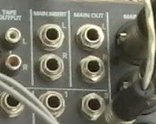 Insert pada Master Mixer (Main Insert)