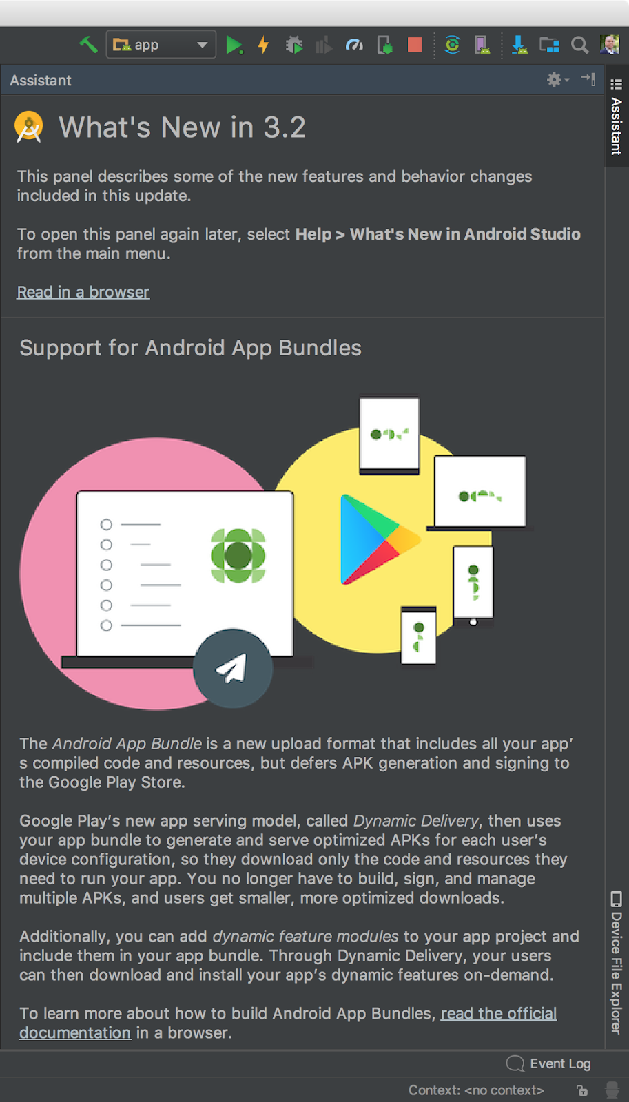- whats new - Android Developers Blog: Android Studio 3.2 Canary
