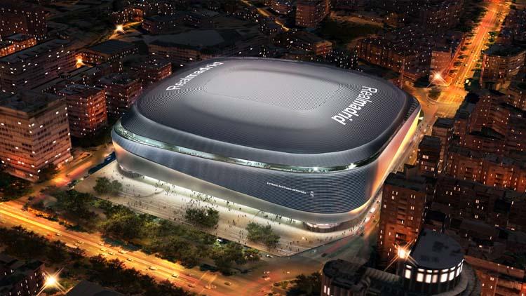 Nuevo estadio del Real Madrid