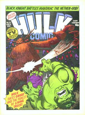 Hulk Comic #23, Groot
