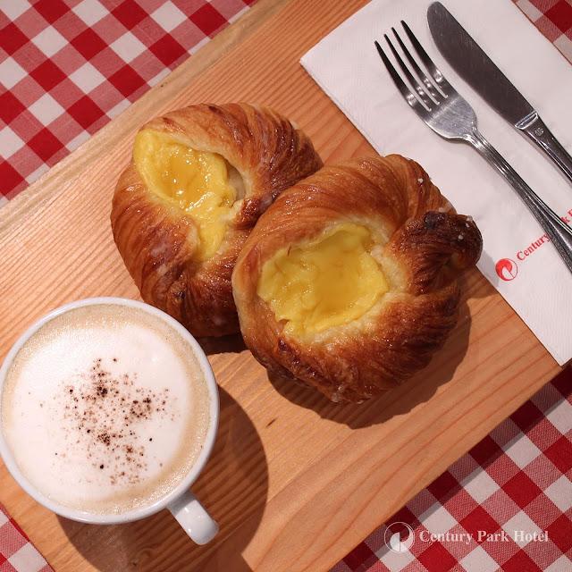 Century Park Hotel Deli Snack Danish pastries