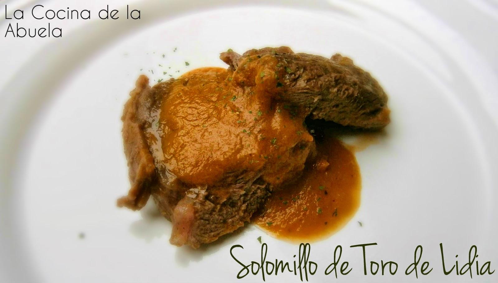 Solomillo de Toro de Lidia