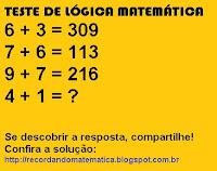 Blog Recordando Matemática Lógica