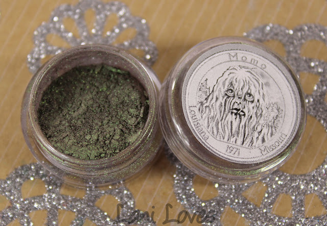 Notoriously Morbid Momo Monster eyeshadow swatches & review
