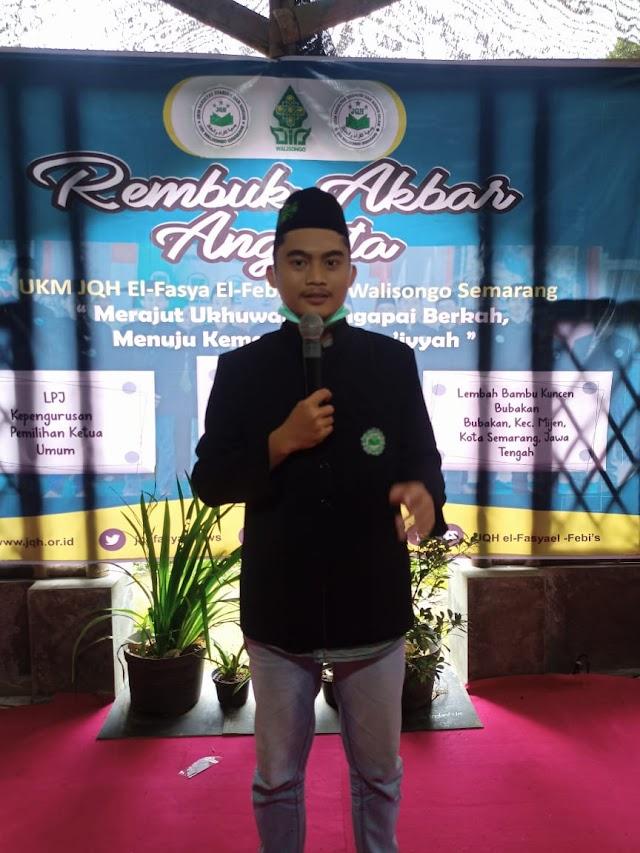 Ibnu Aqil Terpilih Jadi Ketua Umum JQH 2021