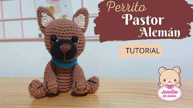 Tutorial de Perro Alemán Amigurumi a Crochet
