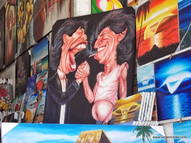 Lojas de quadros em Kuta