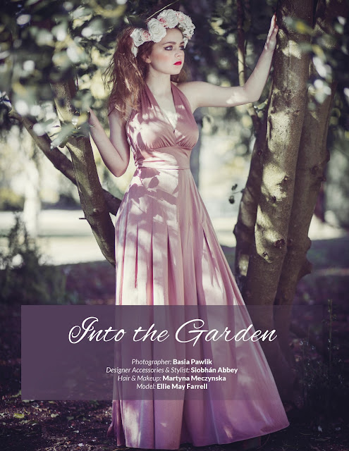 Into the Garden for Avari Magazine