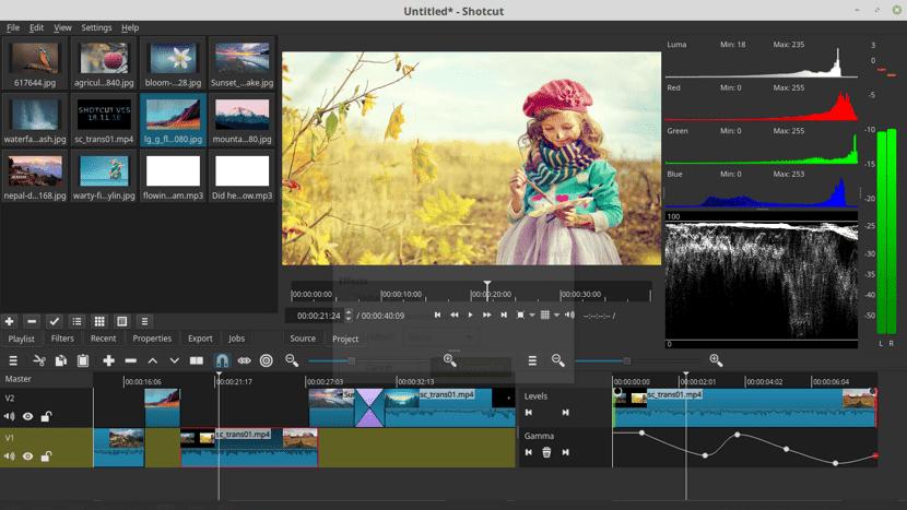 Shotcut 20.09.13 Editor de video simple y fácil