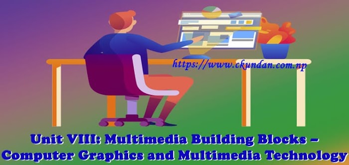 Unit VIII: Multimedia Building Blocks – Computer Graphics and Multimedia Technology