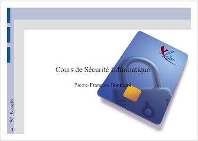 Sécurité informatique - Pierre-François Bonnefoi