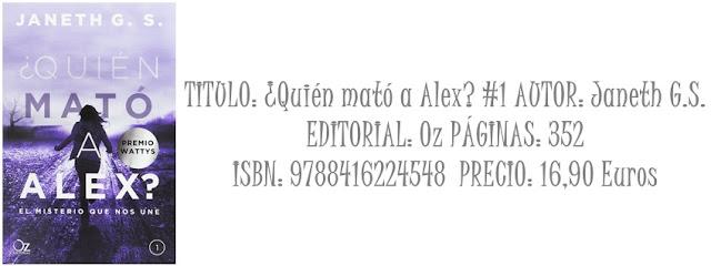 Reseña: ¿Quien mató a Alex? El misterio que nos une