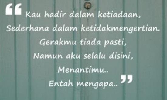Quote Penantian Dewi Lestari