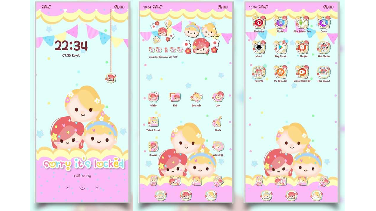 tema oppo tsum and friend tembus akar