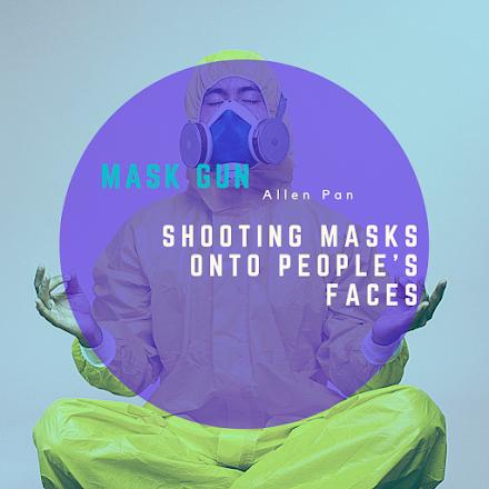 Eine Waffe gegen Maskenmuffel | Die Covidioten Pistole | Mask Gun