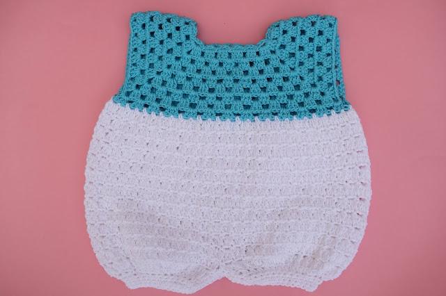 4 - Crochet Imagen Pantalones para canesú vintage a crochet y ganchillo Majovel Crocher facil sencillo DIY paso a paso
