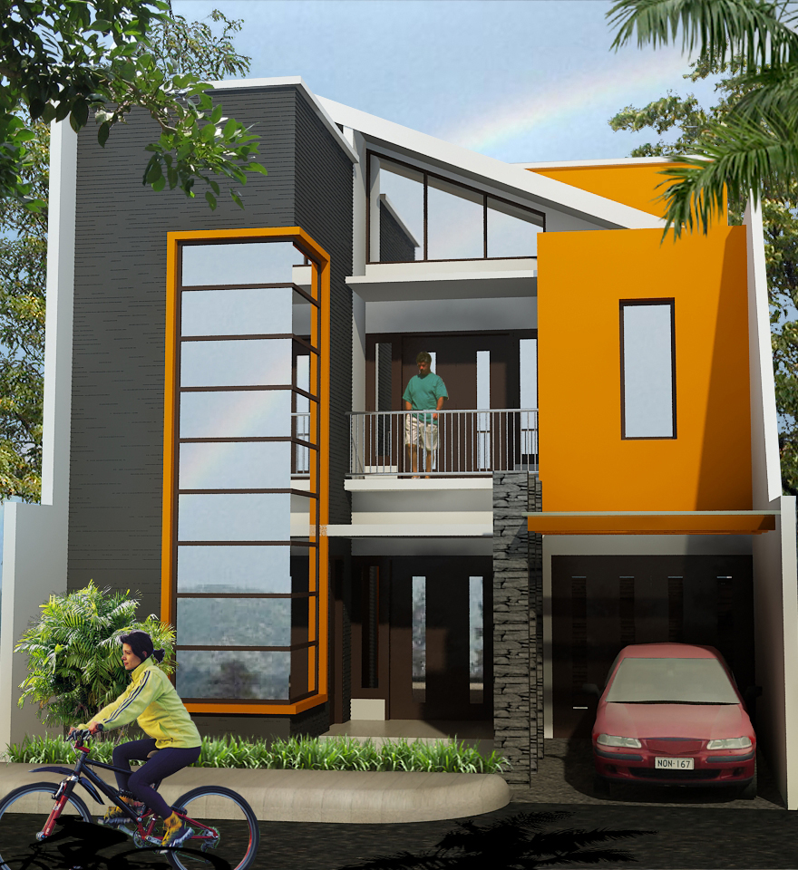 Desain Rumah 2016 Rumah Minimalis Dua Lantai Sederhana Images