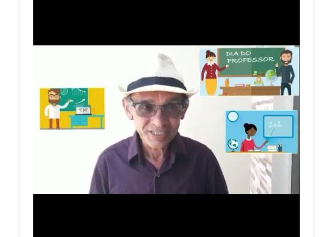 Líder comunitário Josias Brasil, parabeniza todos os professores pelo seu dia.