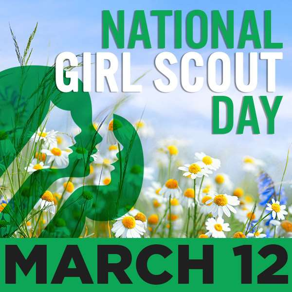 National Girl Scout Day Wishes Beautiful Image