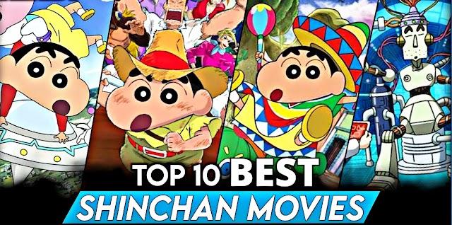 Top 10 Best Shinchan Movies In India - Pro Cartooner