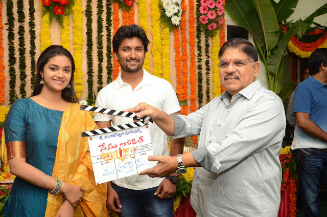 Nani, Keerthi Suresh 'Nenu Local' Movie Launch Photos