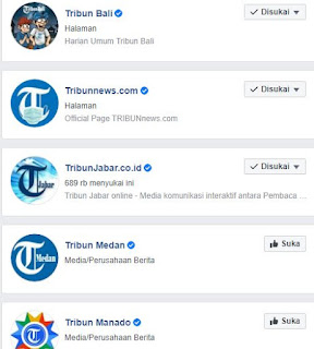 cara bersaing dengan situs besar tribun dan kompas - tribun menang di sosial media