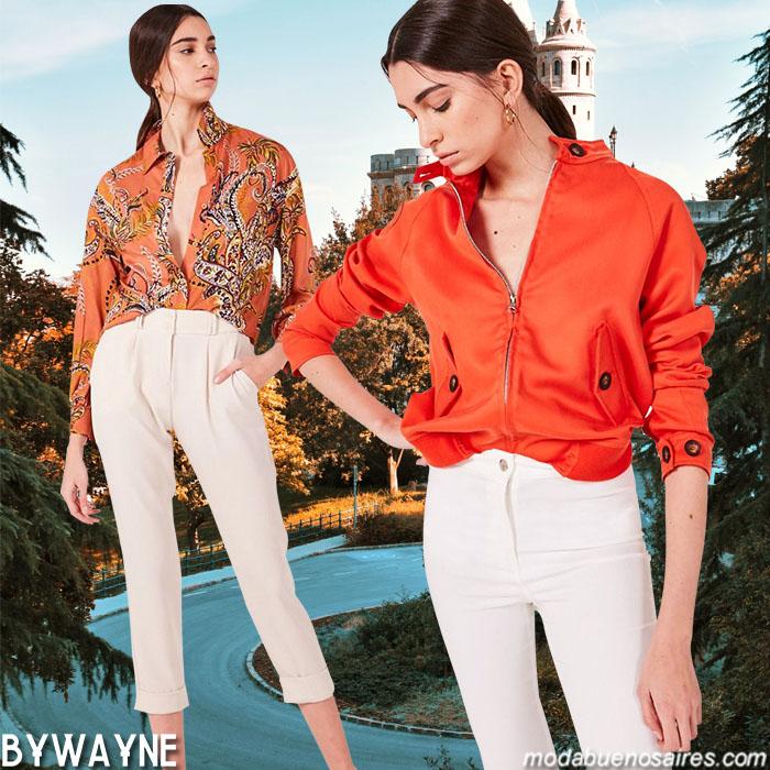Chaquetas, camisas, pantalones de mujer 2020. Moda 2020 ropa de mujer primavera verano 2020.