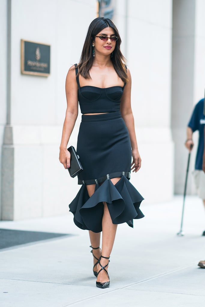 Black gown for parties