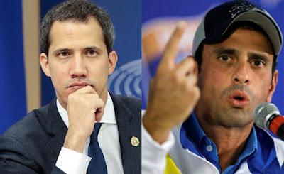 Juan Guaidó contra Capriles: «No favorece en nada»