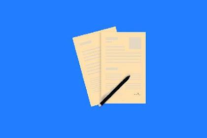 7 Cara Bikin Surat Lamaran Kerja Yang Benar Disertai Contoh