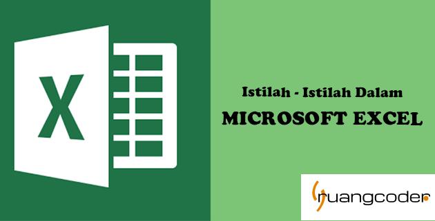 Istilah-istilah dalam Excel