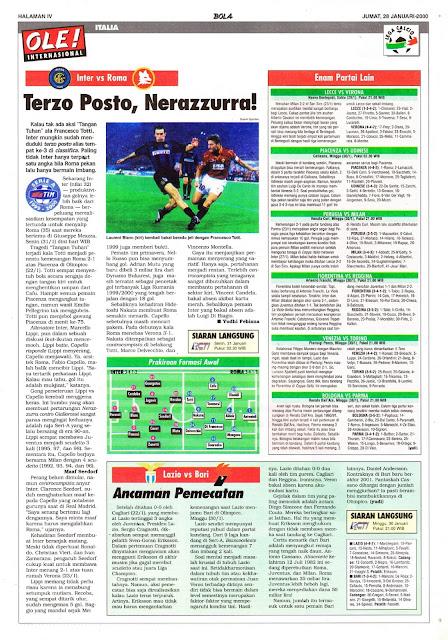 INTER VS ROMA TERZO POSTO, NERAZZURRA
