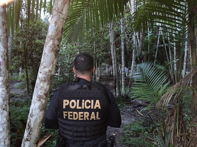 PF combate grupo criminoso que promovia tráfico de drogas em aldeia indígena
