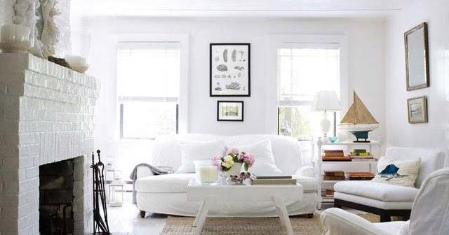 El color blanco en la decoraci n de interiores colores - Decoracion de interiores en blanco ...