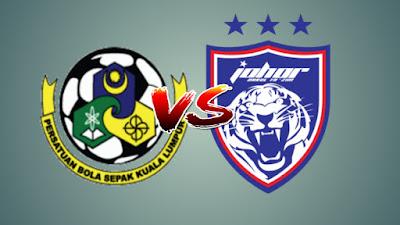 Live Streaming Kuala Lumpur FA vs JDT FC Liga Super 13 Julai 2019