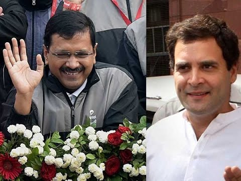 Arvind Kejriwal Takes a Jibe at Rahul Gandhi!