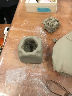 フリースタイル陶芸教室制作風景