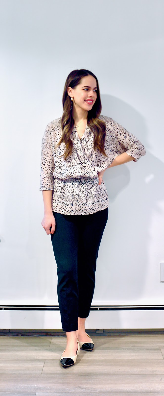 Jules in Flats - J.Crew Cameron Slim Crop Pant (Business Casual Winter Workwear on a Budget)