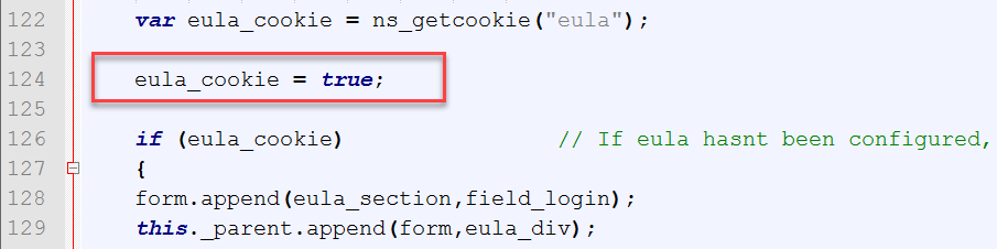 TechDev Corner: Adding an EULA for AAA Login