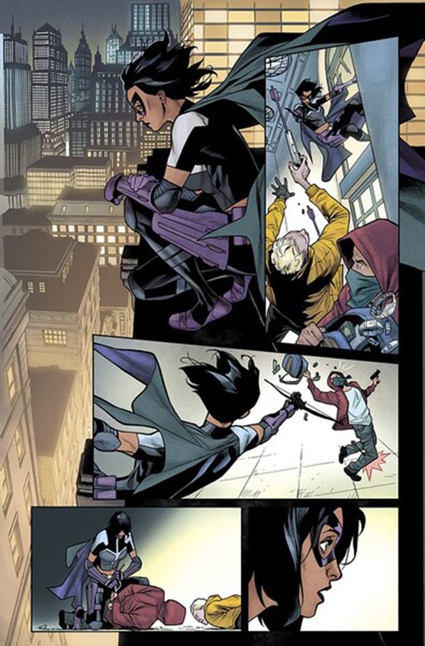 Detective Comics #1035 - Huntress 2