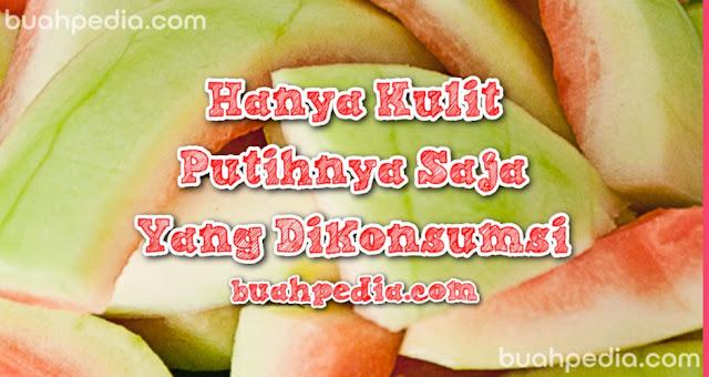 Resep kulit semangka untuk dikonsumsi